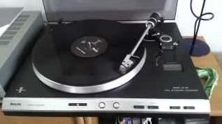 Vintage - Philips AF 729 - Platenspeler - Geluid & Beeld NU!