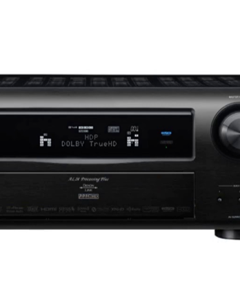 Denon AVR 3808 Dolby Digital receiver Peter de Graaf ECHO Audio Terneuzen.